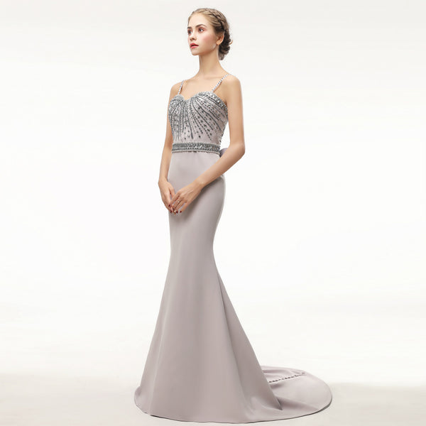 "<p style=""font-size: 18px;""><b>MYSTIQUE</b></p><p style=""color:grey"">MULTI BEADED SWEETHEART MERMAID GOWN</p>"