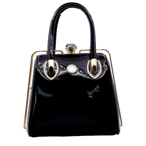 products/Pandora-Crystal-Lock-Patent-Leather-Handbag-Black-Colour-Bag-With-Gold-Hardware-And-Rhinestones-Image-2.jpg