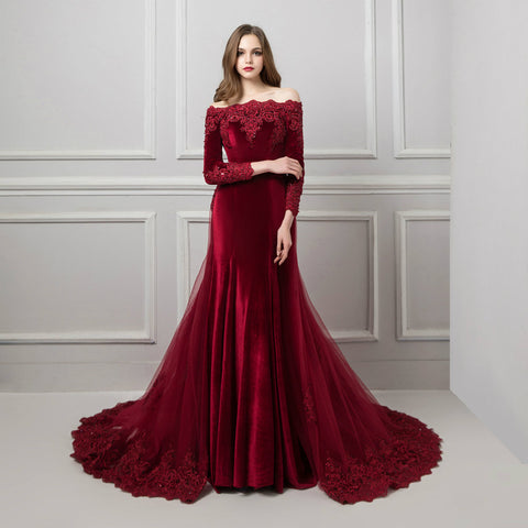 products/Red-Wine-Off-The-Shoulder-Evening-Gown-With-Detachable-Train-1.jpg