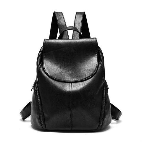 products/Soho-Smooth-PU-Leather-Backpack-Black-Colour-Top-Flap-With-Zip-Closure-And-Top-Handle-Image-1.jpg