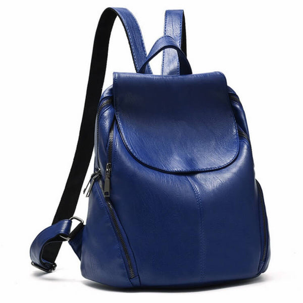 SOHO - Smooth PU Leather Backpack