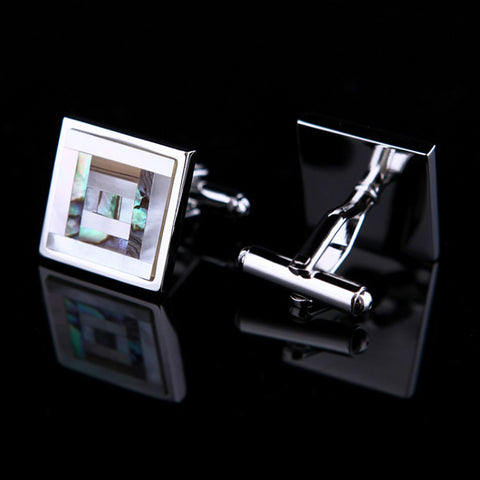 products/Square-Frame-Mother-Of-Pearl-Cufflinks-In-Silver-2.jpg