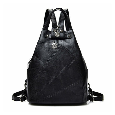 products/The-Traveller-PU-Leather-Durable-Backpack-Black-Colour-With-Zip-Image-1.jpg
