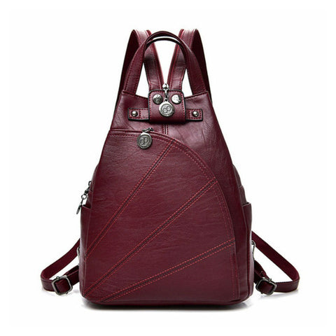 products/The-Traveller-PU-Leather-Durable-Backpack-Red-Colour-With-Zip-Image-1.jpg