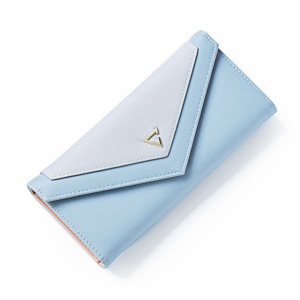 VALIANCE - Bi_Tone Geometric Purse