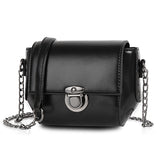<p><b>LUNAR</b><br><p>Silver Chain Mini Crossbody Bag</p>