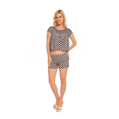 Checkered Set Pajama c.1041 - Allegro Styles