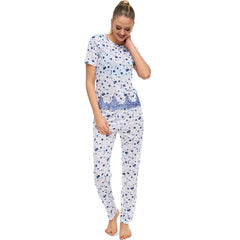 Pajama Cotton with lace c.1054 - Allegro Styles
