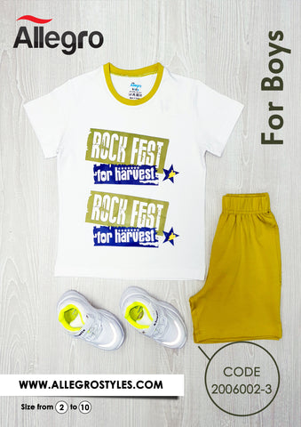 Boys Cotton Set
