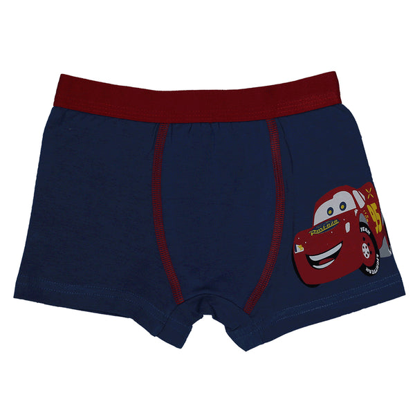 Boys Boxers c.410 Dark Blue and Red