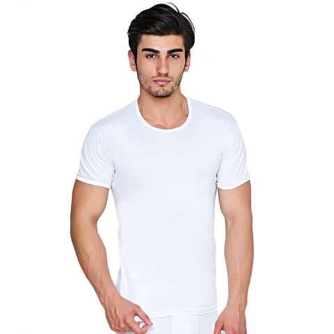 6 Pack Men's round neck Undershirts c.33 - Allegro Styles