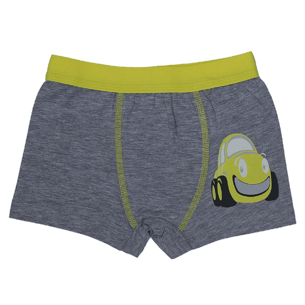 Boys Boxers c.410 Yellow and Gray - Allegro Styles