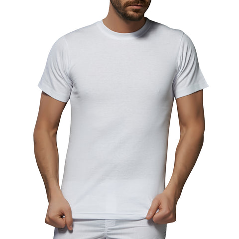 6 Pack Men's Undershirts c.109 - Allegro Styles