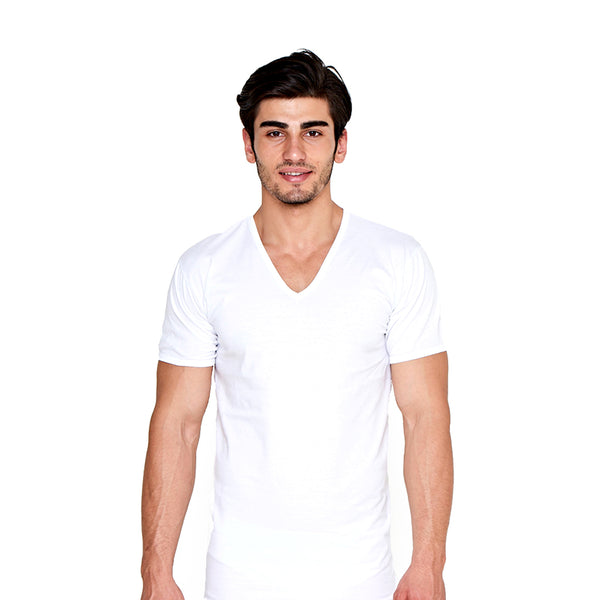 6 Pack Men's Undershirts c.108