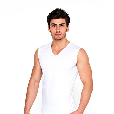 Men's sleeveless shirt c.114 - Allegro Styles