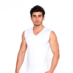 6 Pack Men's sleeveless shirts c.114 - Allegro Styles