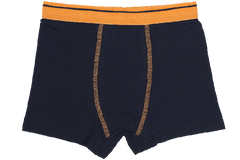Boys Boxers c.410 Black and Orange - Allegro Styles
