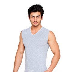 Men's stretchy v-neck c.38 - Allegro Styles