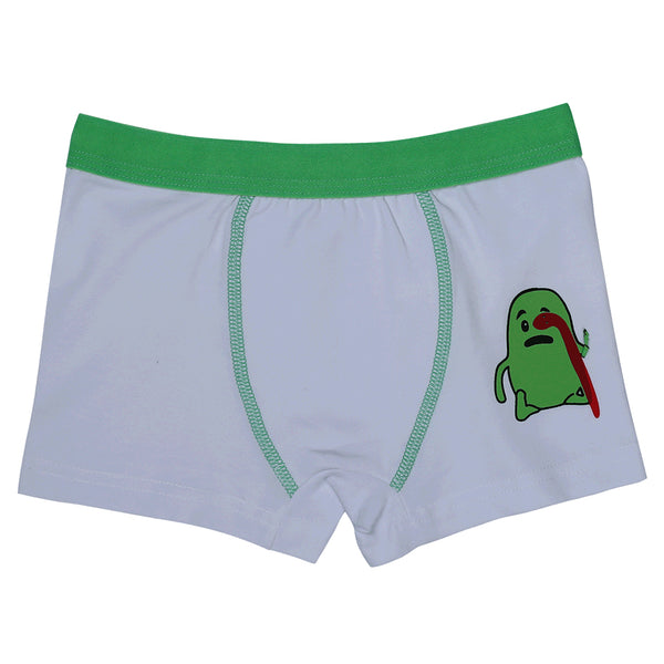 Boys Boxers  c.410 Green and Gray - Allegro Styles