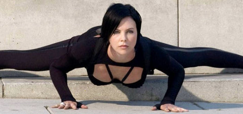 "Charlene Theron in sci-fi action movie, ""Æon Flux"" (2005)"