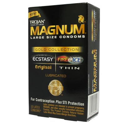 large condoms magnum trojan