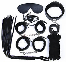 Load image into Gallery viewer, Complete Bondage kit Deluxe -Black