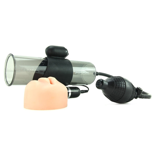 Supreme Vibrating Penis Pump - Mouth