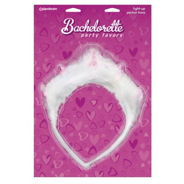 Bachelorette Party Light-Up Pecker Tiara