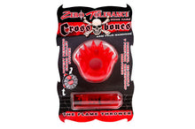 Load image into Gallery viewer, Zero Tolerance Flame Thrower Cock Ring - Red