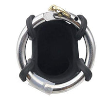 Load image into Gallery viewer, Adjustable Metal Ring And Padlock Cock Lock
