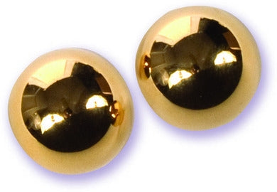 Ben Wa Balls - Gold with Black Felt Case