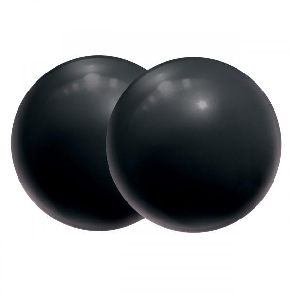 Body-Safe Ben Wa Balls Silicone - Black