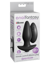 Load image into Gallery viewer, Anal Fantasy Remote Control Silicone Plug