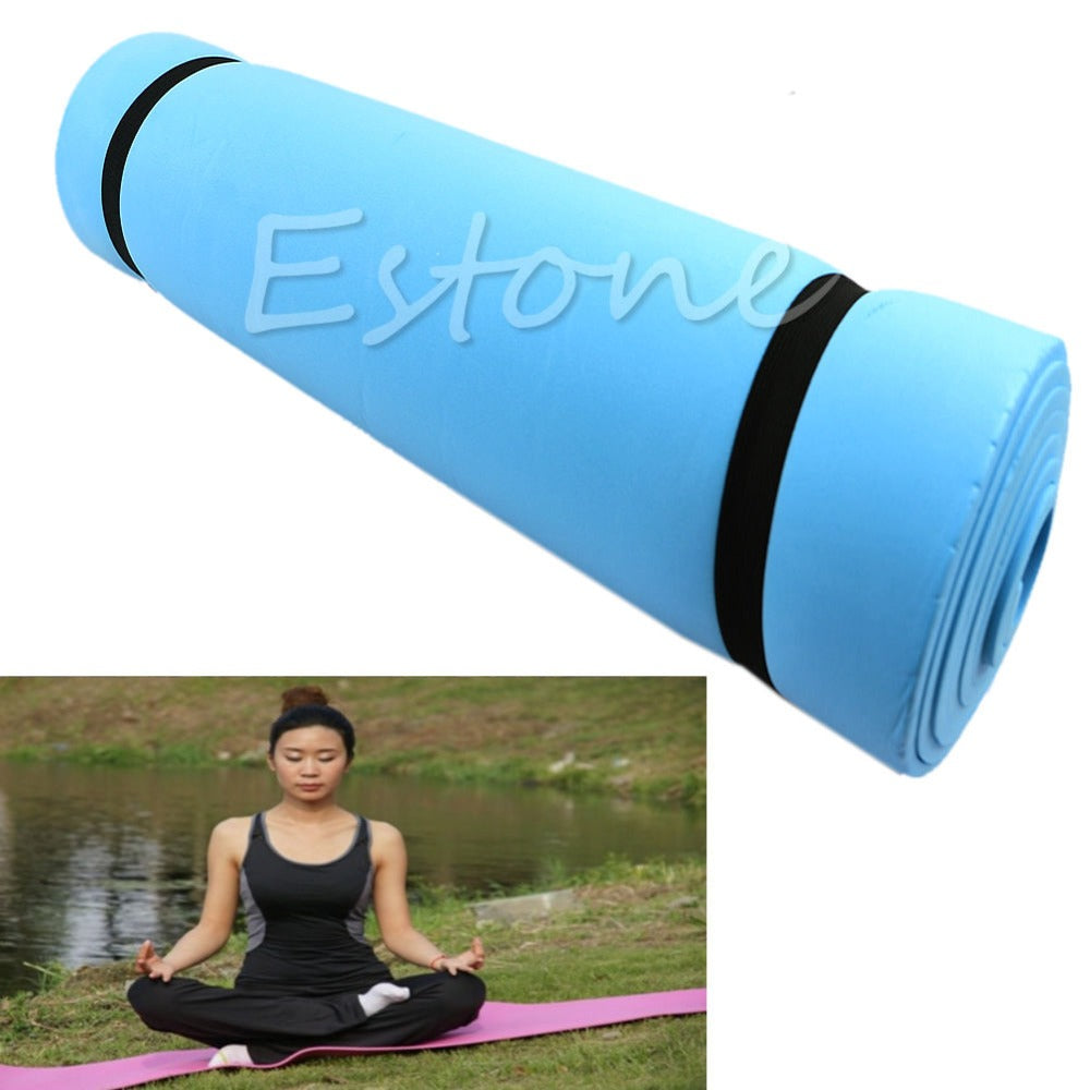 1Pc New EVA Foam Eco-friendly Dampproof Mat Exercise Yoga Camping Pad Sleeping Mattress