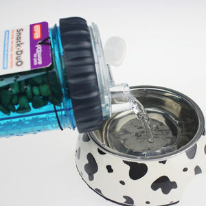 Pet  portable bowl Collapsible Travel Bowl Dish Outdoor Bottle Dispenser Dog Water Bowls Snack pack