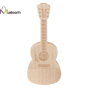 Wooden Guitar - Hot Selling USB 3.0 32GB Flash