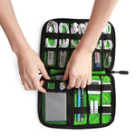 BAGSMART Electronic Accessories Packing Organizers for Earphone USB Charger Data Cable Travel Bag