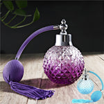 100ml Crystal Art Vintage Style Refillable Perfume Atomizer Long Spray Bottle