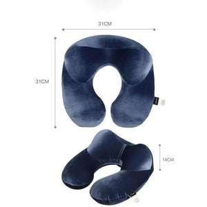 Travel Pillow for Airplane Inflatable Neck Pillow Travel Accessories Comfortable Pillows for Sleep