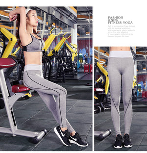 Clearance Women Sports Yoga Pants Quick Dry Thin Breathable Fitness Athletic Tights Leggings Jogging