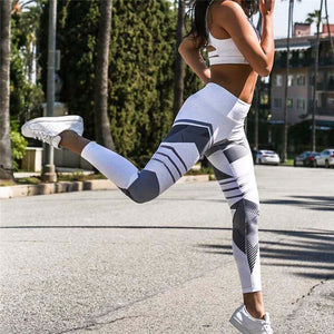 Women Sexy Yoga Pants Dry Fit Sport Pants Elastic Fitness Gym Pants Workout Running Tight Sport
