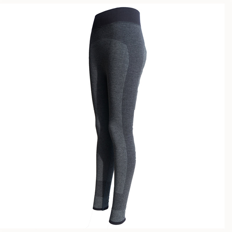 Women Yoga Sports Pants Elastic Wicking Force Exercise Tights Female Sports Elastic Fitness