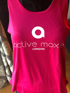Active Moxie fuchsia  sports top