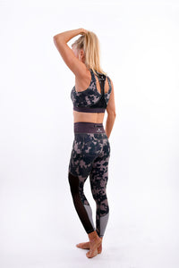 Camo High Support Sports Bra