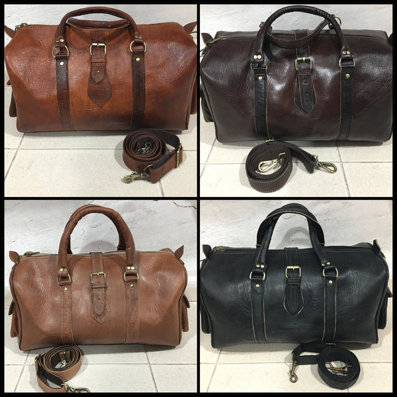 Leather Travel & Weekend Bags