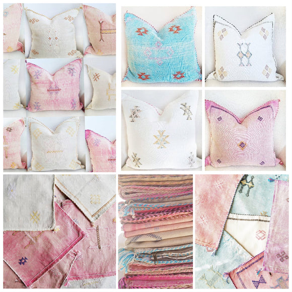 Moroccan Cushions & Pillows