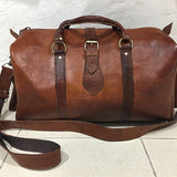 NAVIGATOR Handcrafted Leather Travel Duffel - Nomad House