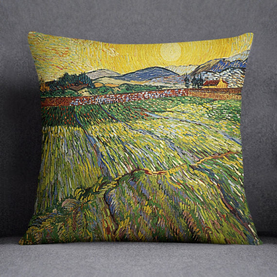 Van Gogh Painting Decorative Throw Pillow Case - Asili Interiors
