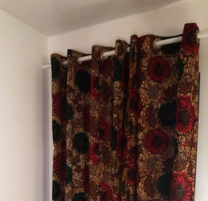 Kitenge Curtains - Asili Interiors