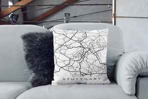 Stuttgart Map Print Stuttgart City Map Stuttgart - Asili Interiors